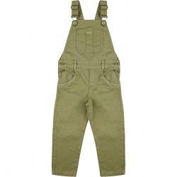 Jardineira Look Jeans Masculina Infantil Verde