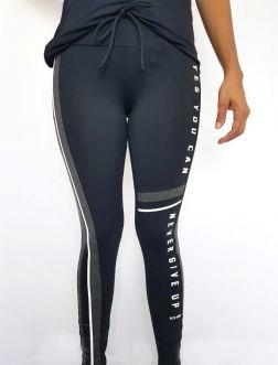Legging Feminina Alto Giro Athletic Preta