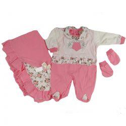 Saida Maternidade Dayane Baby 3 peças