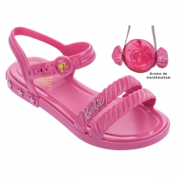 Sandalia Grendene Feminina Barbie Candy Bag