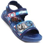 Sandalia Infantil Avengers Capitão América