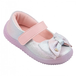 Tenis Pampili Feminino Infantil Baby Calce Holografico