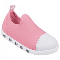 Tenis Pampili Sneaker Infantil Luz Rosa
