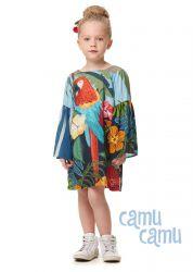 Vestido Camu Camu Feminino Infantil Araras