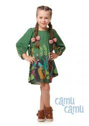 Vestido Camu Camu Feminino Onça