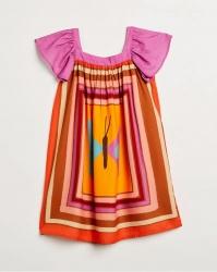 Vestido Fabula Feminino Infantil Cora