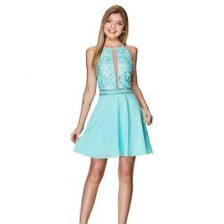 Vestido Karapalida Feminino Gisele Azul