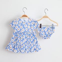 Vestido Kiko Baby Feminino Camadas Daisy