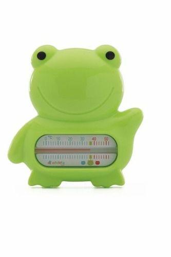 Termometro Banheira Bebe Sapo Adoleta Verde