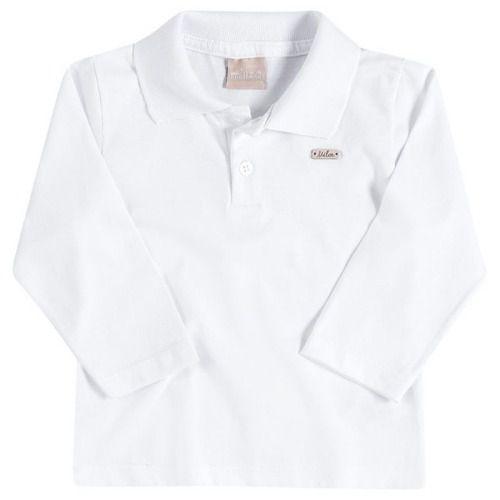 Camiseta Milon Manga Longa Menino Infantil