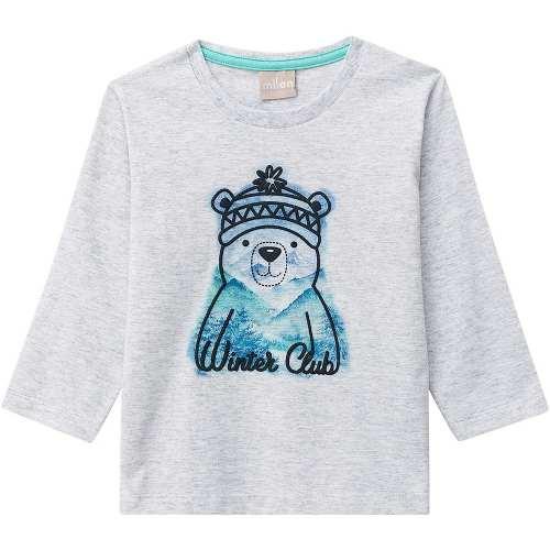 Camiseta Infantil Masculina Milon Meia Malha