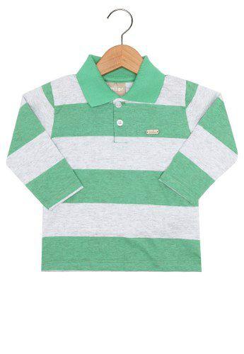 Camisa Polo Milon Menino Verde