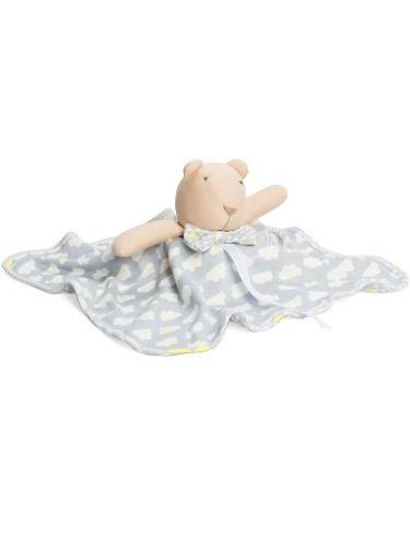 Naninha Hug Sunshine Nuvem Bebe Cinza