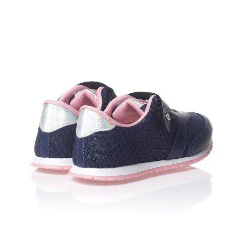 0e8db895e18 Tênis Pampili Mini Joy Marinho Menina Infantil Fashion