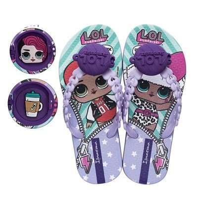 Chinelo Infantil Ipanema Lol Surprise Doll Lilas