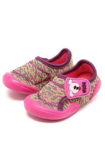 d07c07584a Tenis Infantil Baby New Confort Klin Rosa