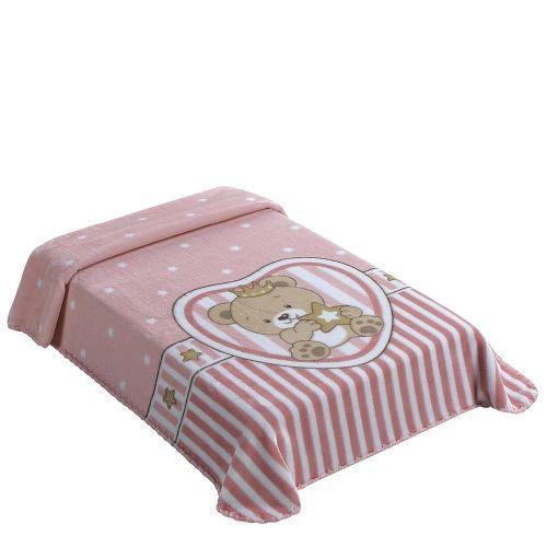 Cobertor Para Bebe Berço Colibri Superstar