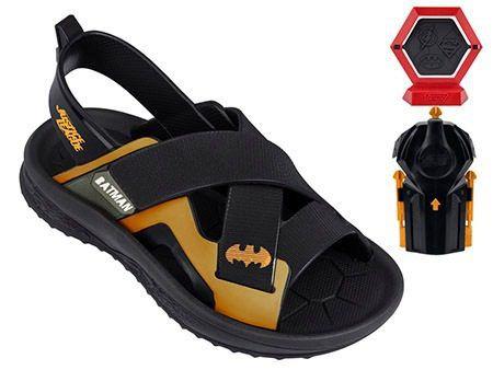 Sandalia Infantil Batman Liga Da Justica