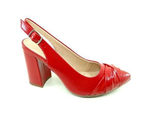 Sapato Dakota Salto Peeptoe Feminino