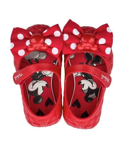 ddf208cbd7 Sapatilha Grendene Infantil Laço Minnie   Mickey Kids Vermelha