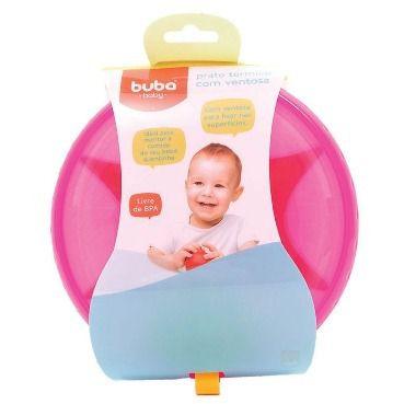 Prato Buba Baby Térmico Com Ventosa