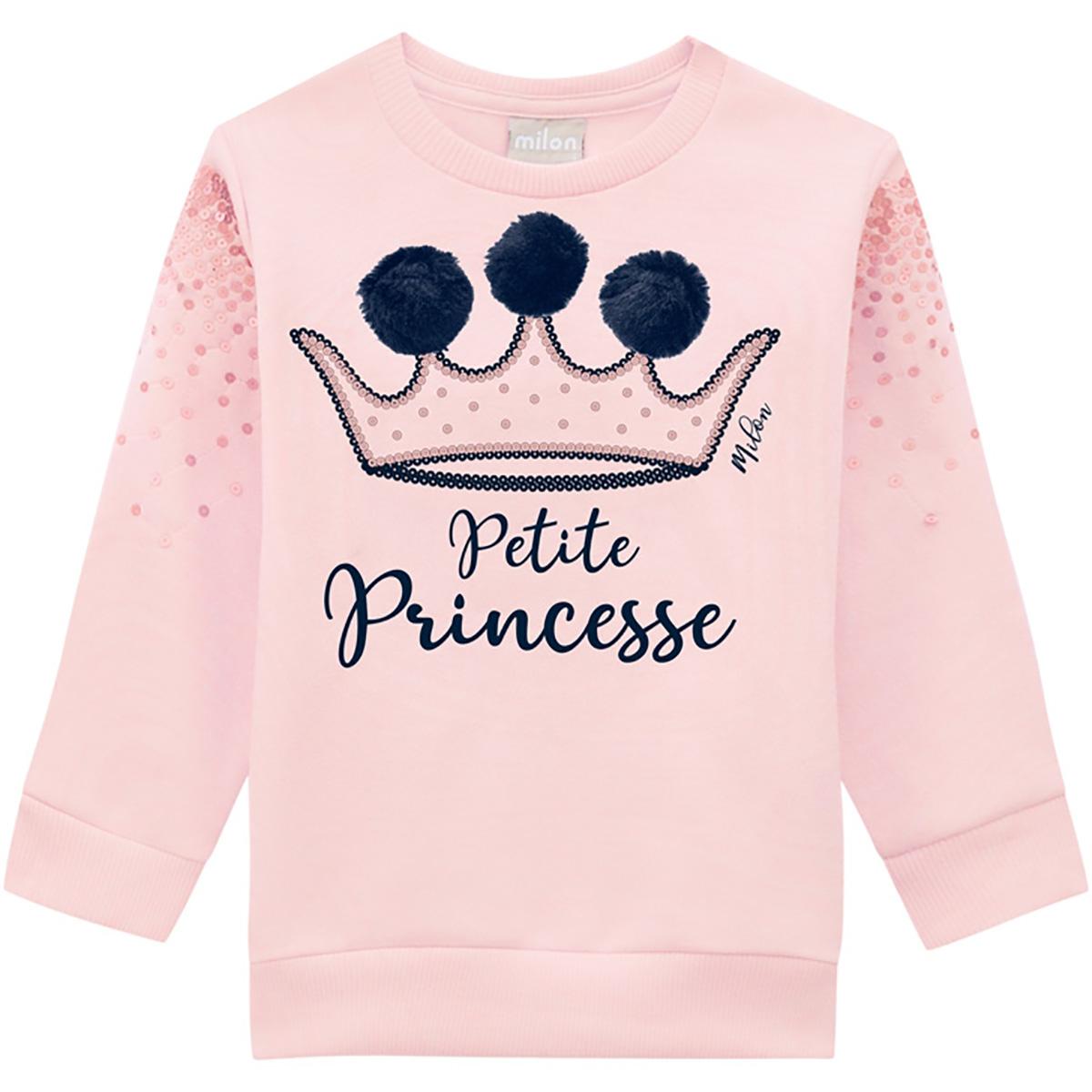 Abrigo Milon Feminino Infantil Petite Princesse