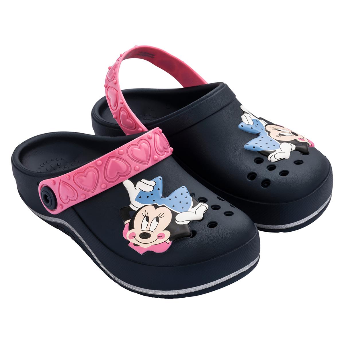 Babuche Grendene Minnie Glam Kids