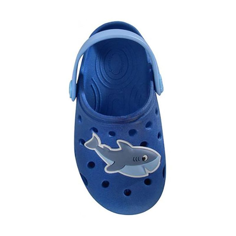 Babuche World Colors Masculino Tubarão Azul