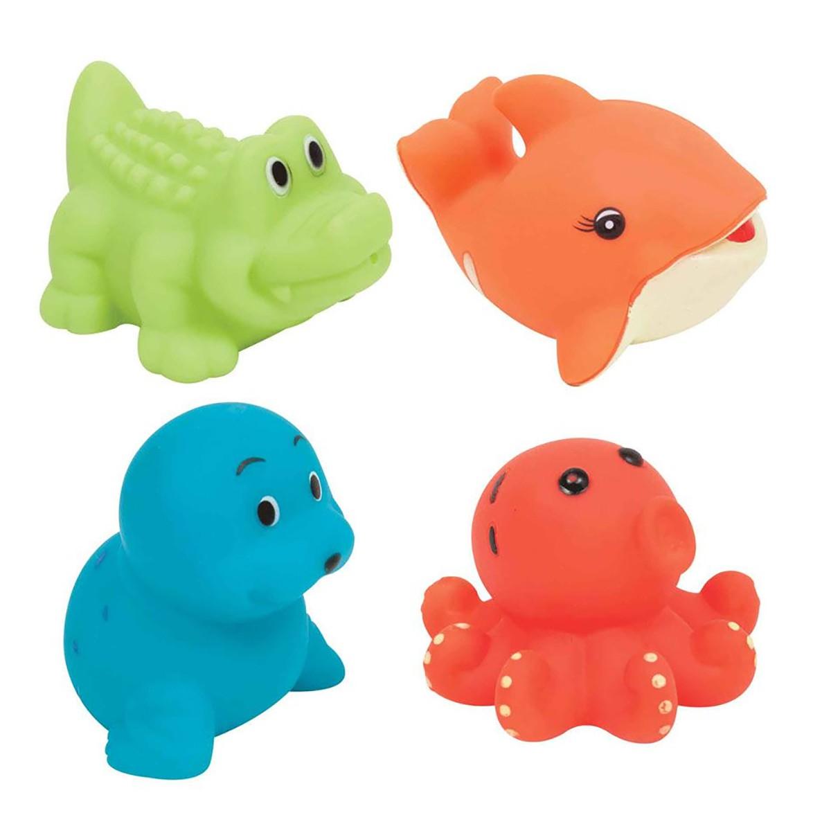Bichinhos de Banho Buba Animais Aquáticos Baby