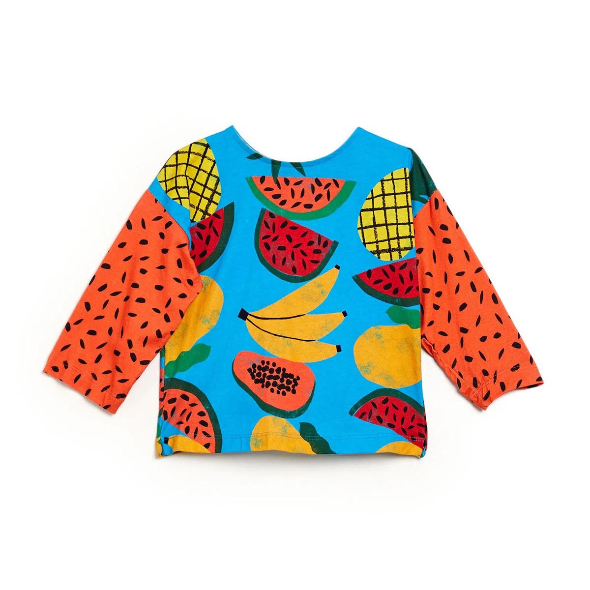 Blusa Fabula Feminina Infantil Malha Tropical