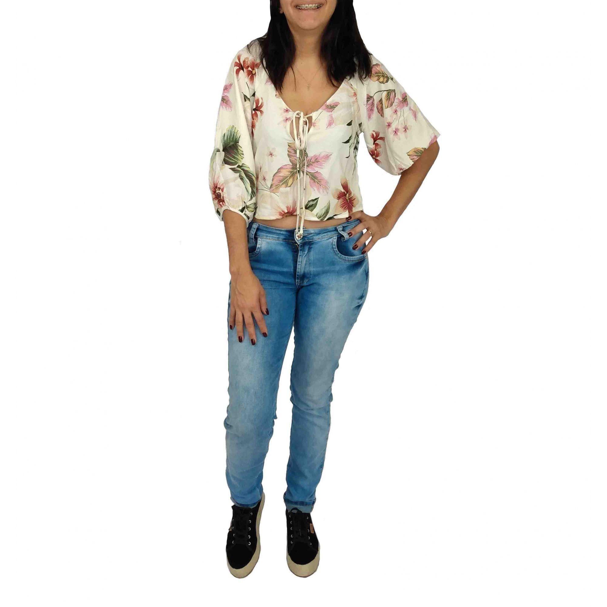 Blusa Farm Feminina Estampada Flores