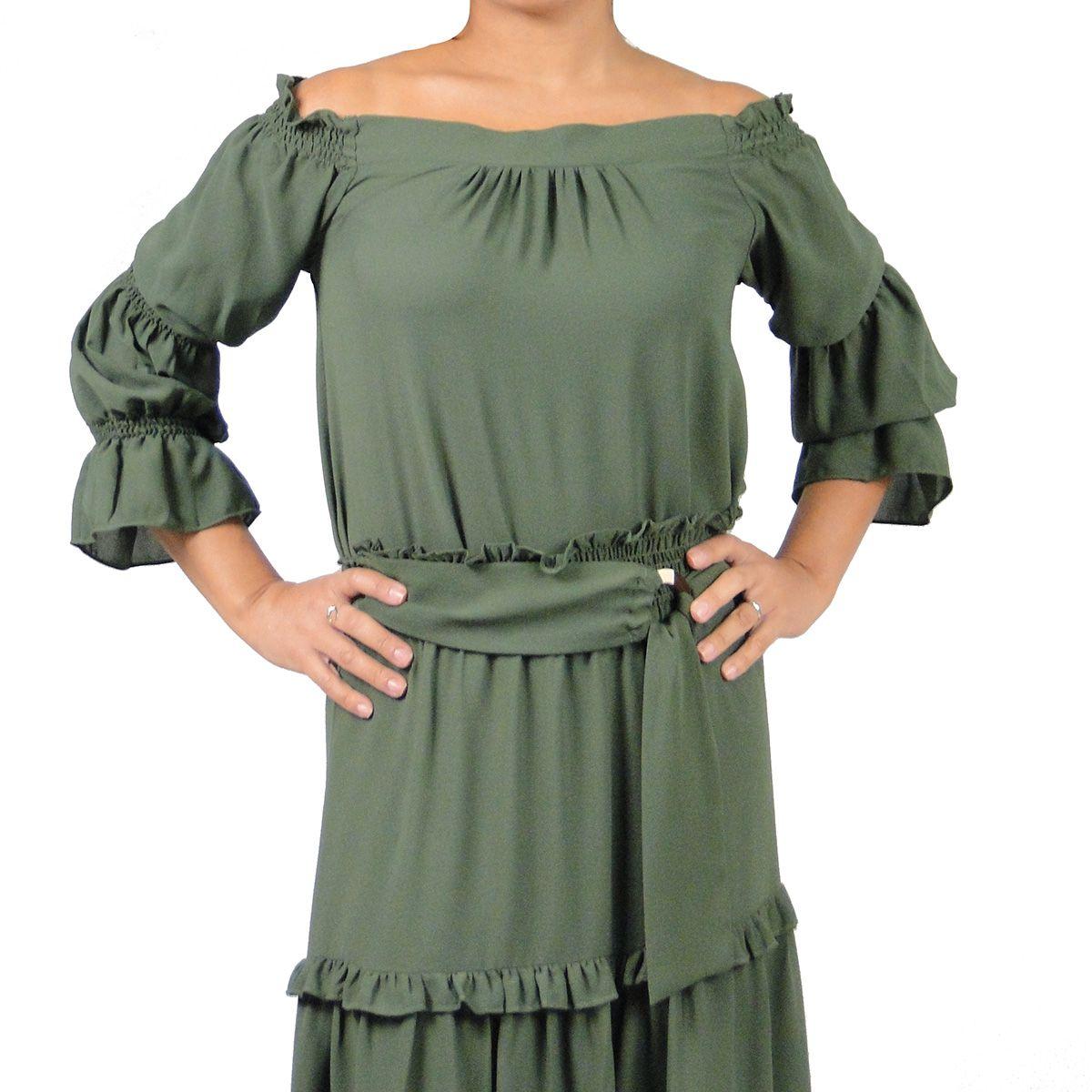 Blusa Fashionista Feminina Verde