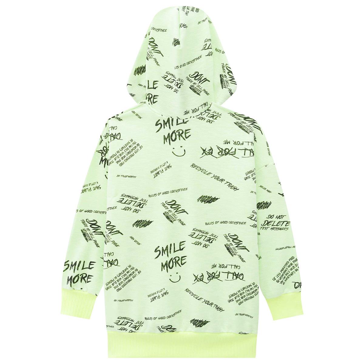 Blusão Lilimoon Feminino Neon Capuz
