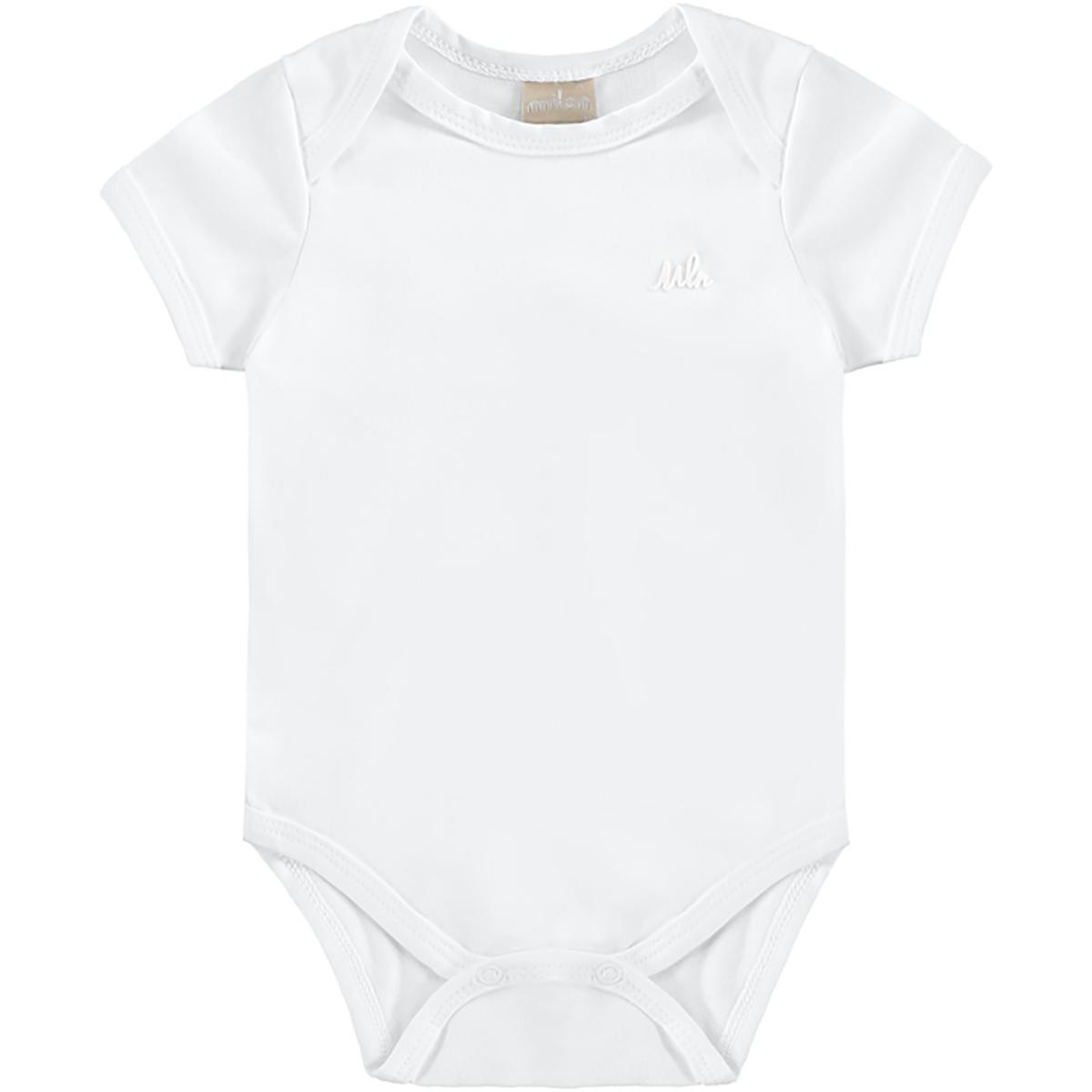 Body Bebê Milon Branco