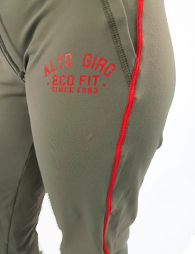Calça Feminina Alto Giro Evolution CO2 Eco Verde