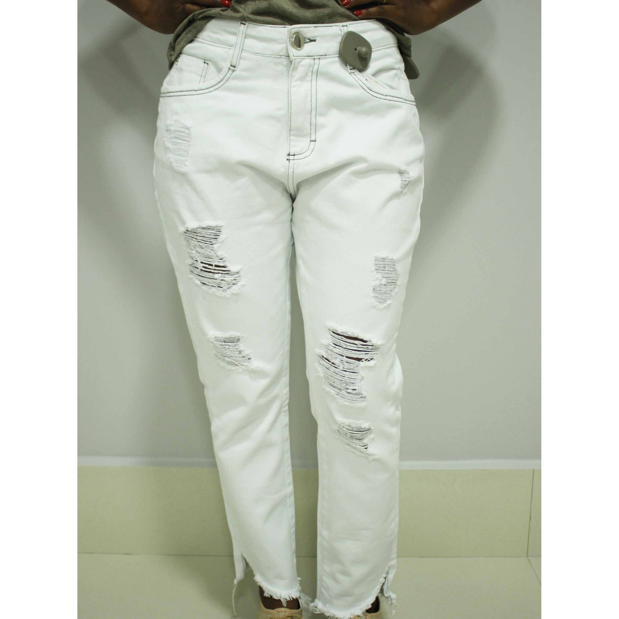 Calça Jeans Riccieri Skinny Rasgada