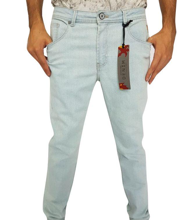 0fde68ef0 Calça Masculina Cavalera Jeans Claro Skinny - 38