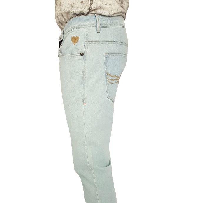 Calça Masculina Cavalera Jeans Claro Skinny