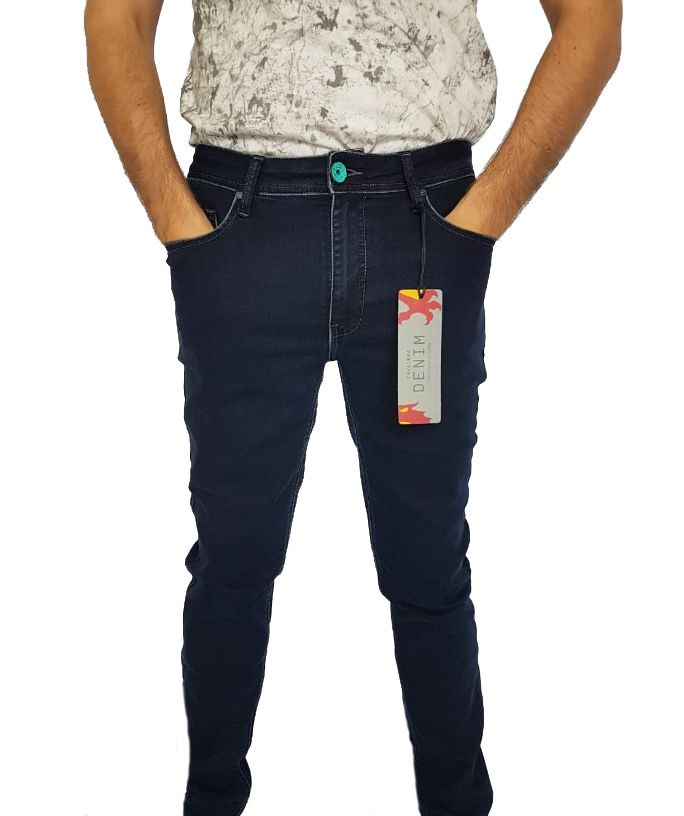 879e9a34d Calça Masculina Cavalera Jeans Escuro - 38