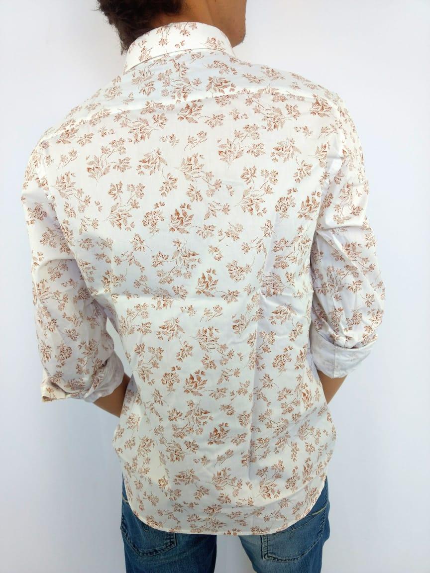 Camisa Masculina Yachtmaster Branca Estampada   - Pick Tita