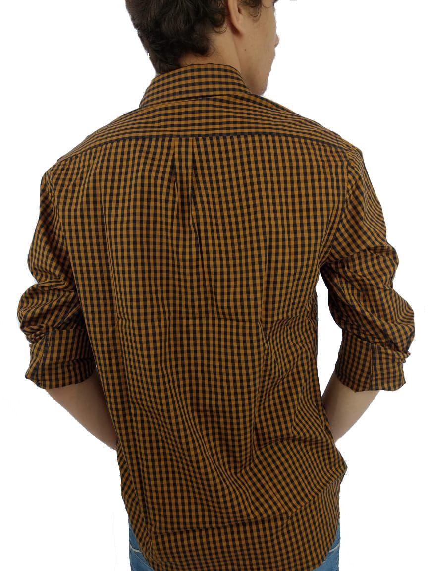 Camisa Masculina YachtMaster Xadrez