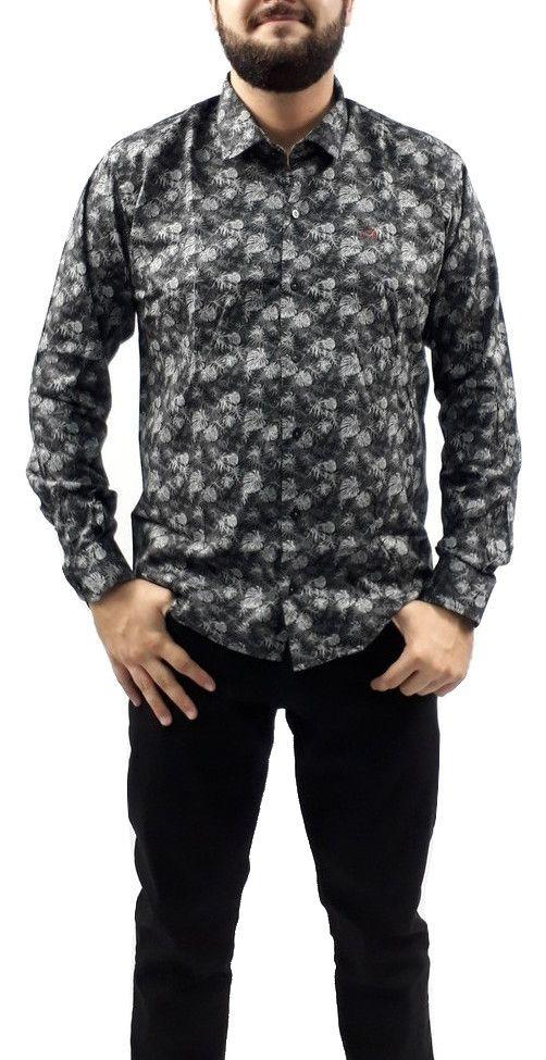 Camisa Ogochi Masculina Floral