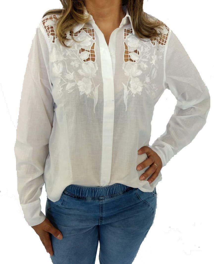 Camisa Reserva Natural Feminina Branca