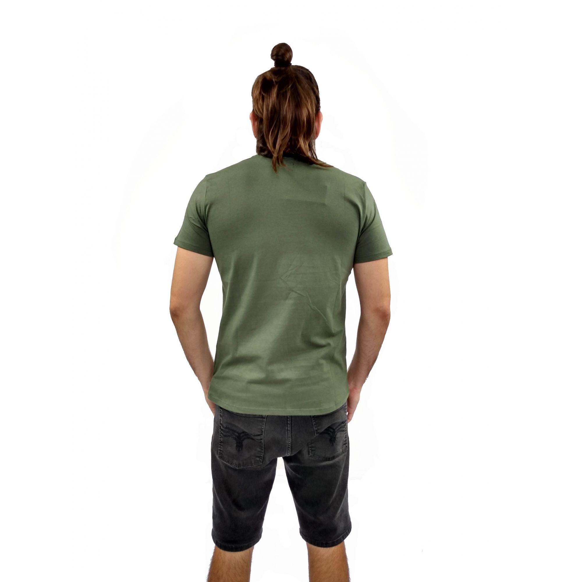 Camiseta Acostamento Masculina Manga Curta