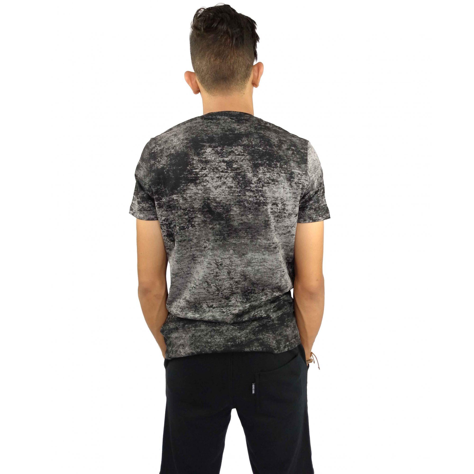Camiseta Acostamento Masculina ACDC Cinza