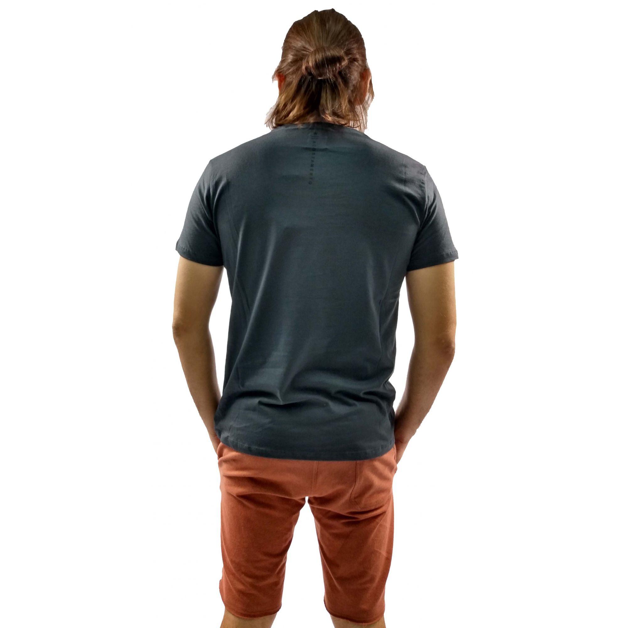 Camiseta Acostamento Masculina Lobo