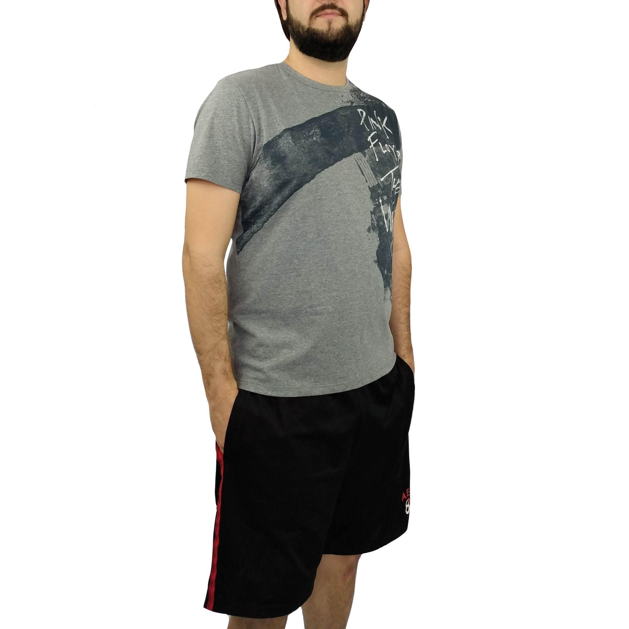 Camiseta Acostamento Masculina Pink Floyd The Wall