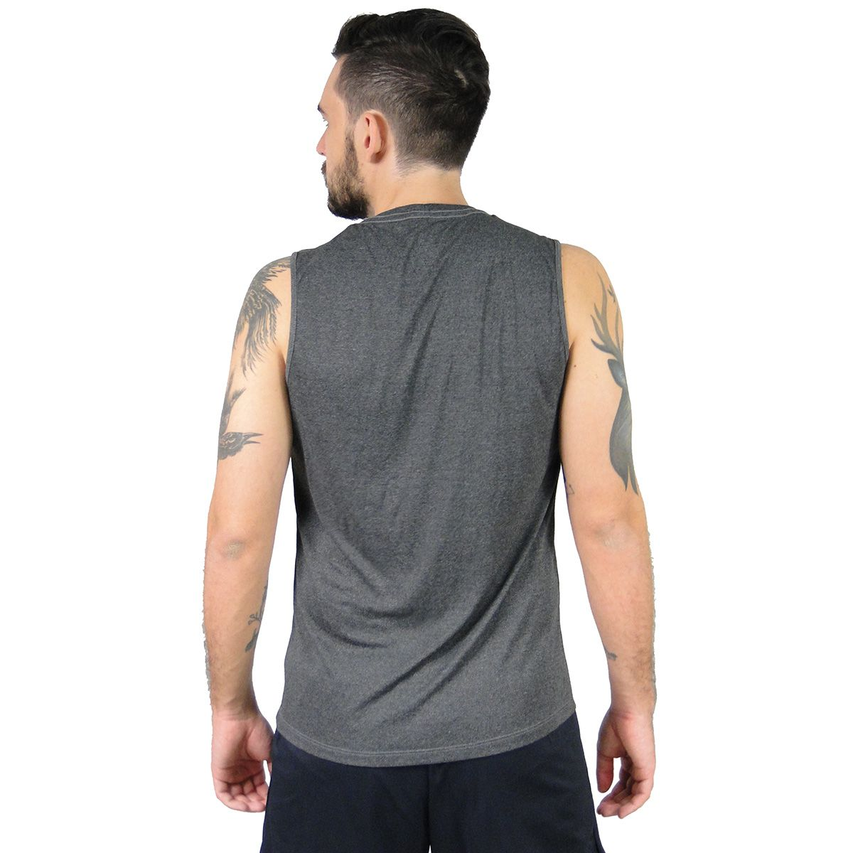 Camiseta Alto Giro Masculina Cinza