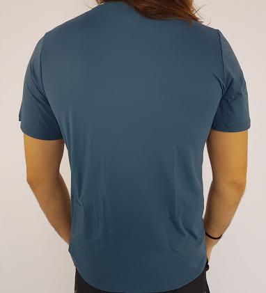Camiseta Alto Giro Masculina Skin Fit Azul Noite  - Pick Tita