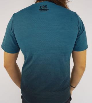 Camiseta Alto Giro Masculina Skin Fit Verde